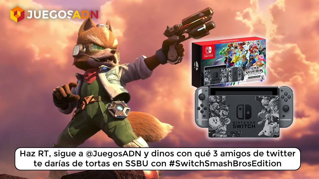 Concurso Switchsmashbrosedition Gana Una Nintendo Switch Super