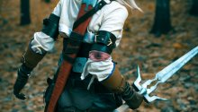 Cosplay de 'The Witcher 3: Wild Hunt'
