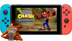 Crash Bandicoot N. Sane Trilogy confirmado para Nintendo Switch