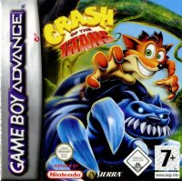 Crash of the Titans Game Boy Advance