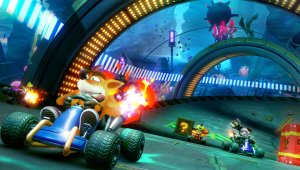 Crash Team Racing Nitro-Fueled solo funciona a 480p en Nintendo Switch con el modo portátil