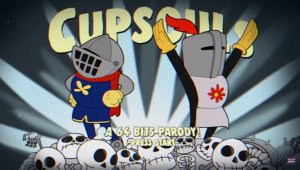Cuphead y Dark Souls se reúnen en esta espectacular recreación del universo de From Software