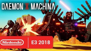 Daemon X Machina anunciado para Nintendo Switch; llegará en 2019