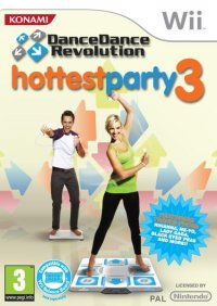 Dance Dance Revolution Hottest Party 3 Wii
