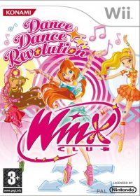 Dance Dance Revolution Winx Club Wii