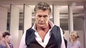 David Hasselhoff promociona DanceStar Party