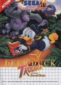 Deep Duck Trouble Starring Donald Duck Master System