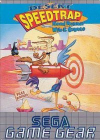Desert Speedtrap Starring Road Runner and Wile E. Coyote Game Gear