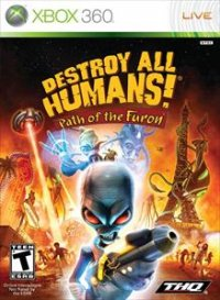 Destroy All Humans! El Camino De Recto Furon Xbox 360
