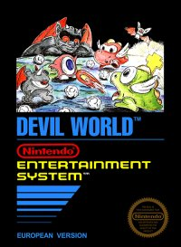 Devil World NES