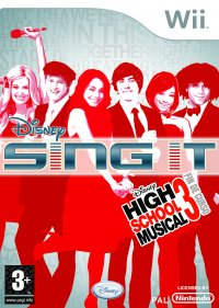 Disney Sing it High School Musical Wii