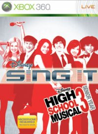 Disney Sing it High School Musical Xbox 360