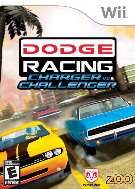 Dodge Racing: Charger vs Challenger