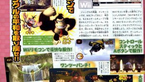 [Act.] Scans y detalles de Donkey Kong Jungle Beat Wii