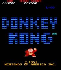 Donkey Kong Recreativa