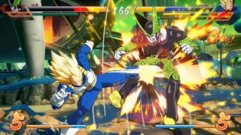 Vegeta quiere Dragon Ball FighterZ en Nintendo Switch