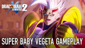 Dragon Ball Xenoverse 2 muestra a Super Baby Vegeta en acción