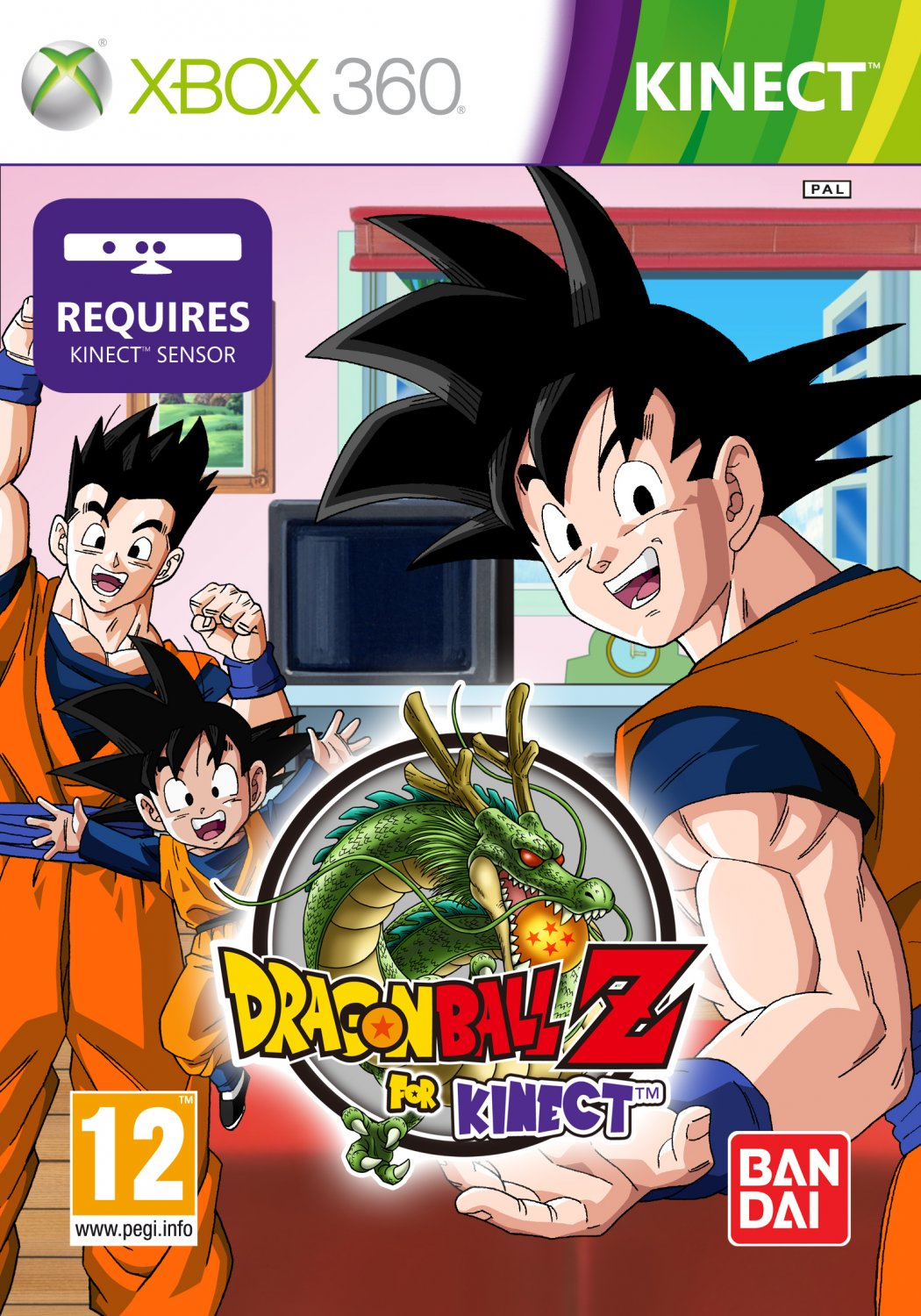 Dragon Ball Z Kinect Xbox 360 Juegosadn