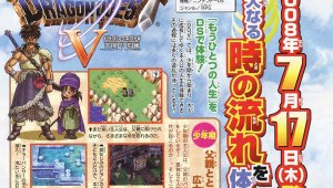 Scan de Dragon Quest V para DS