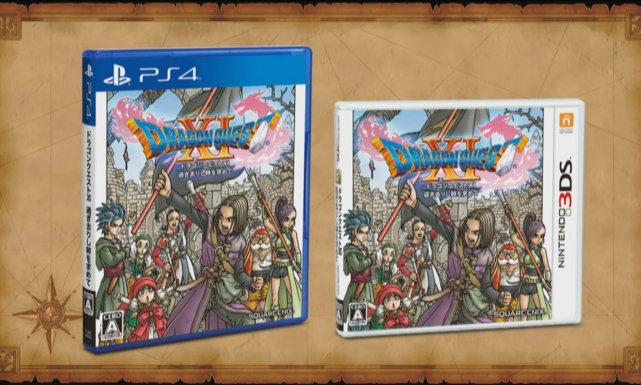 Dragon Quest XI empezó como exclusivo de PS4
