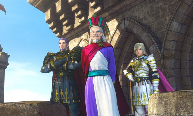 Dragon Quest XI se muestra en movimiento en PS4 y 3DS