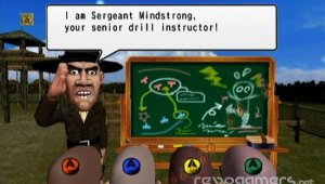 Drill Sergeant Mindstrong para WiiWare