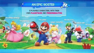 Mario + Rabbids Kingdom Battle aparece registrado en Brasil