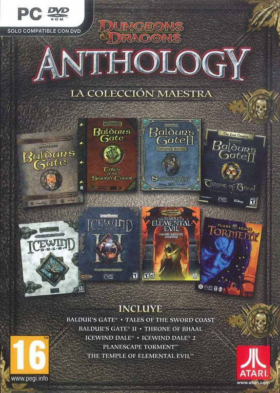 Dungeons and Dragons Anthology: La Colección Maestra