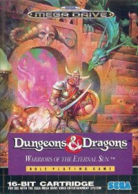 Dungeons & Dragons: Warriors of the Eternal Sun Mega Drive