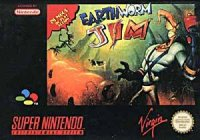 Earthworm Jim Super Nintendo