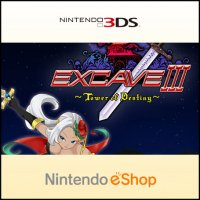 Excave III : Tower of Destiny Nintendo 3DS