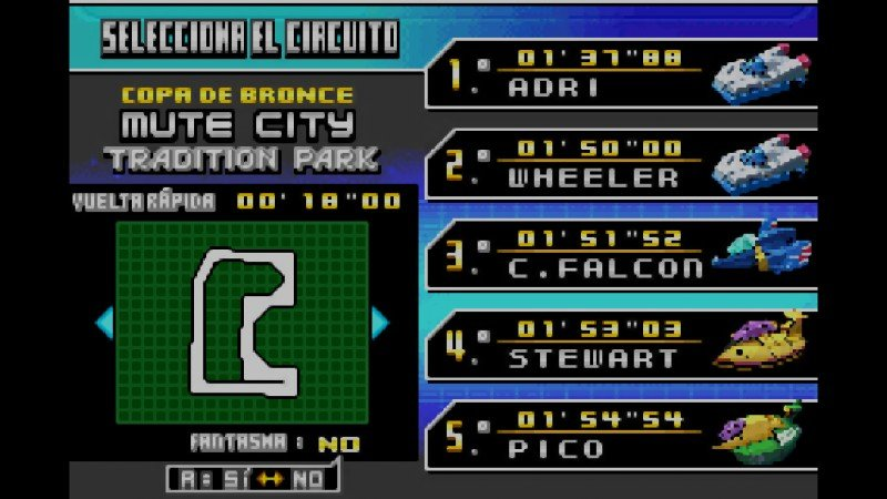 F-Zero: GP Legend