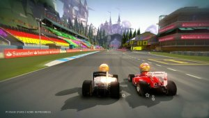 Disponible la demo de 'F1 Race Stars' en Xbox Live