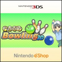 Family Bowling 3D Nintendo 3DS
