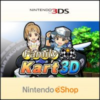 Family Kart 3D Nintendo 3DS