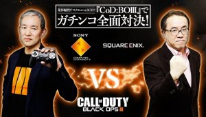 El presidente de PlayStation Japón y el CEO de Square Enix se retan a un duelo de Call of Duty Black Ops 3