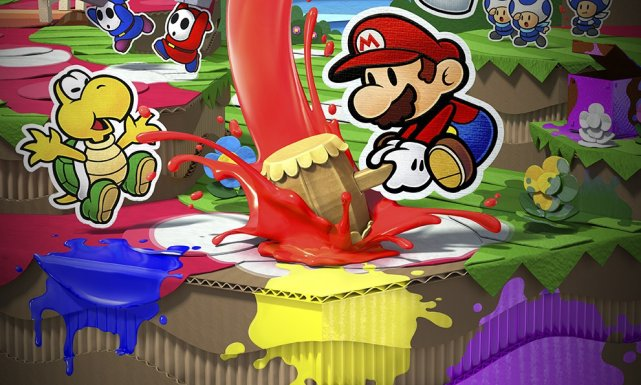 [Impresiones] Paper Mario: Color Splash
