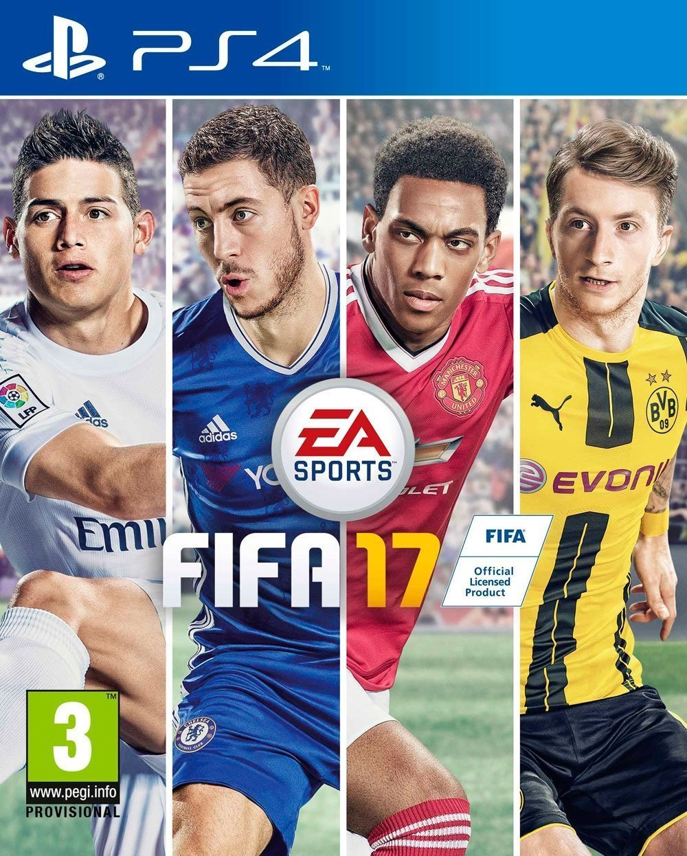 im genes de fifa 17 para playstation 4 juegosadn. Black Bedroom Furniture Sets. Home Design Ideas