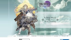 Abierta la web oficial de Final Fantasy IV: The After Years