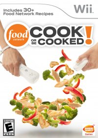 Food Network: Cook or be Cooked Wii