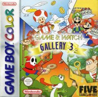 Game & Watch Gallery 3 Game Boy Color