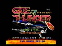 Gate of Thunder Wii