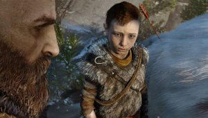 El nuevo God of War para PlayStation 4 se promociona en Madrid