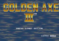 Golden Axe III Wii