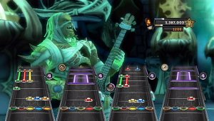 Capturas para Wii de Guitar Hero Warriors of Rock