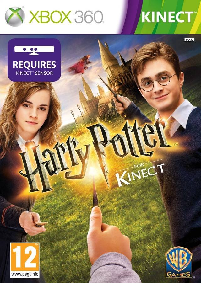 Harry Potter For Kinect Xbox 360 Juegosadn
