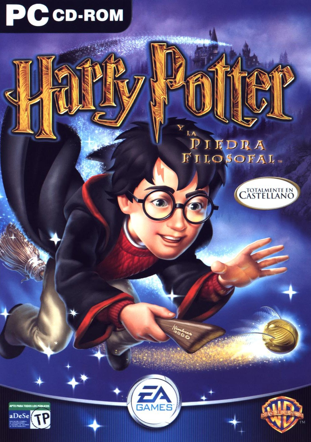 Harry Potter Y La Piedra Filosofal Pc Juegosadn