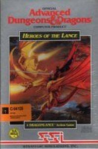 Heroes of the Lance Commodore 64