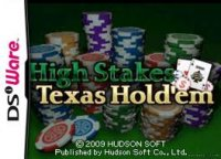 High Stakes Texas Hold'em Nintendo DS