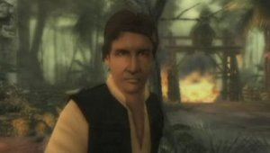 Han Solo jugable en Indiana Jones and the Staff of Kings